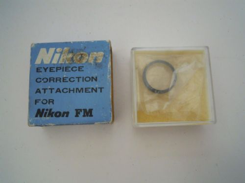 Nikon Eyepiece Correction Attachment 4.0  for Nikon FM